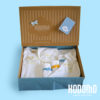 caja pack 4 celeste