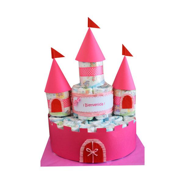 Castillo de pañales (nuevo modelo)